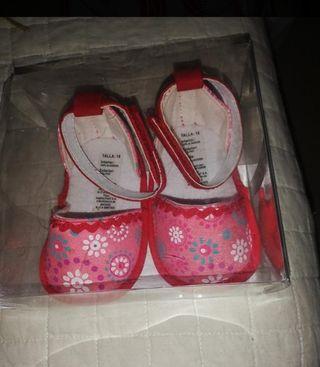 zapatillas niña número 18