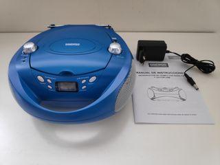 Reproductor CD/MP3 con radio FM y lector USB