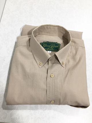 Camisa Hombre. Talla 3. Green Coast