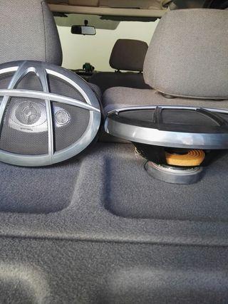 altavoces para coche