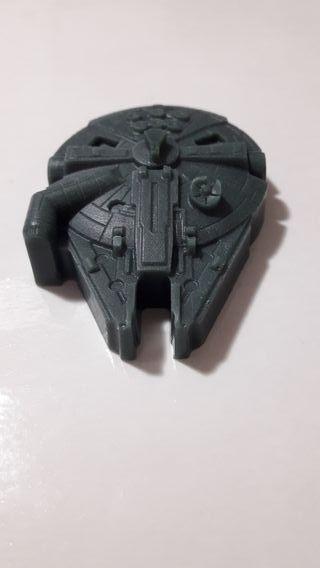 Jabon con forma de nave de Star Wars