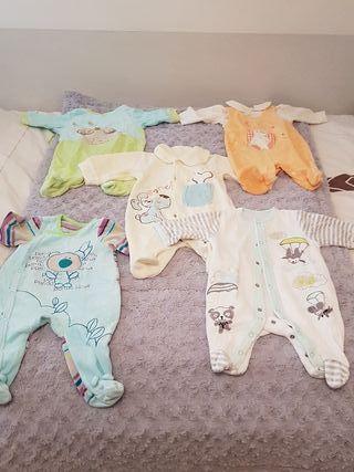 Lote de 8 pijamas bebe