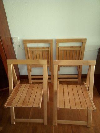 silla plegable ikea segunda mano