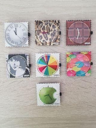 reloj stamps (pulseras y esferas)
