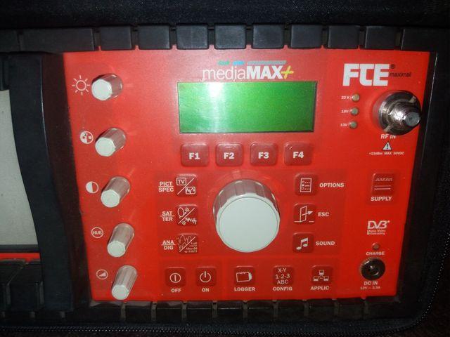 Medidor de Intensidad de Campo FTE mediaMAX+