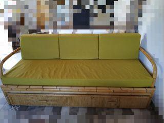Sillón cama de bambú
