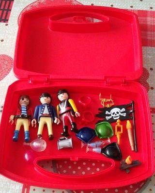 maletin piratas playmobil