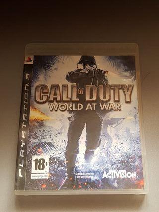 Cod World at War I- Ps3