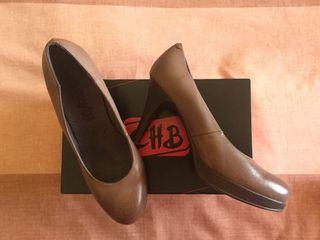 Zapatos de salón en piel