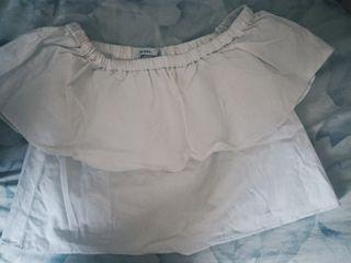 blusa bershka
