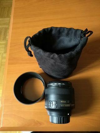 Nikkor 85mm 1.8g + filtro UV