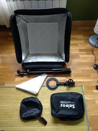 Kit strobist softbox 60x60