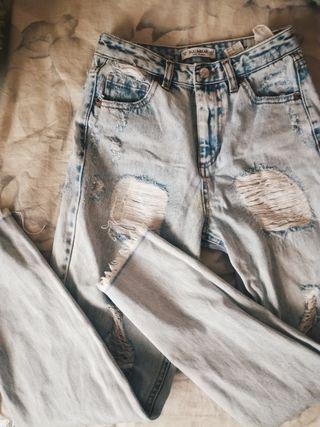 mum jeans p&b