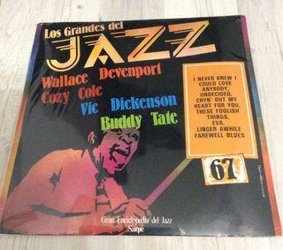 Disco de Vinilo: Los grandes del Jazz