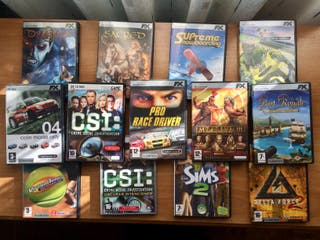 Videojuegos ordenador varios títulos