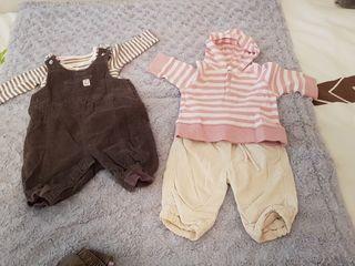 Dos conjuntos bebe