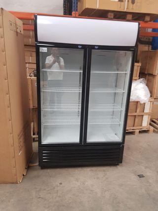 armario 2 puertas de cristal oferta