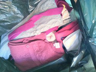 2 sacos ropa de niña