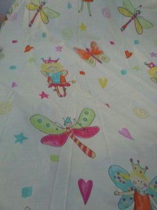 cortinas infantil(par)
