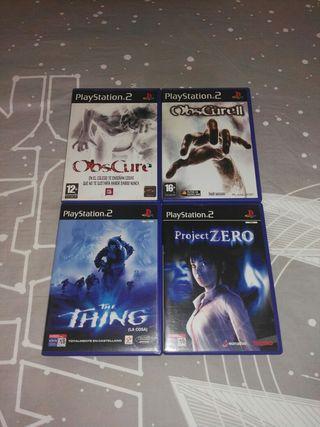 Juegos de terror PS2