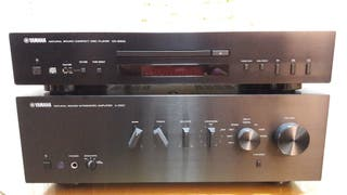 Amplificador y reproductor de cd Yamaha