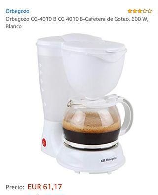 Cafetera orbegozó de goteo 4010