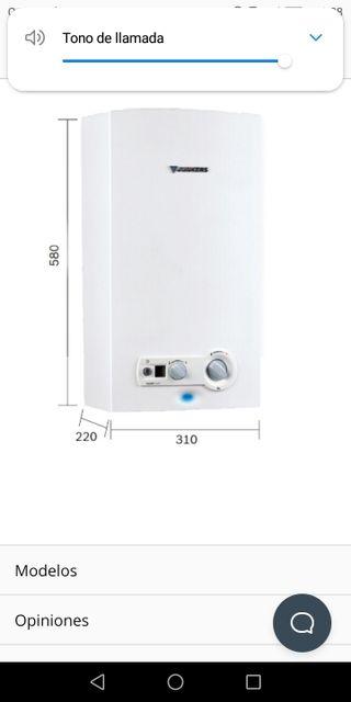 Calentador de agua JUNKERS MINIMAX