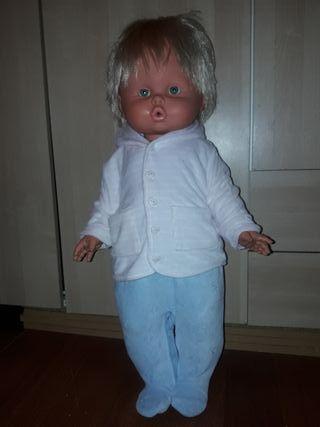 muñeco antiguo 60cm