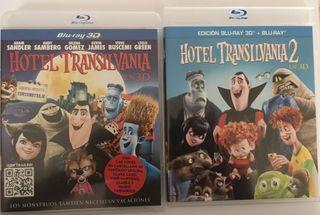 Pack Blu ray 3D Hotel Transilvania 1 y 2
