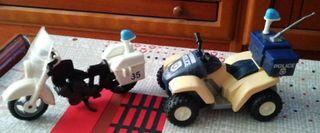 vehiculos policia playmobil