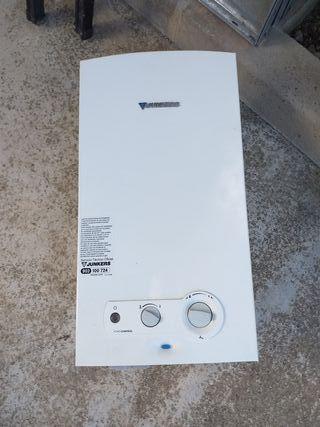 calentador junker 14l gas natural