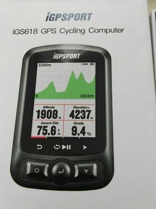igs618 GPS btt y carretera