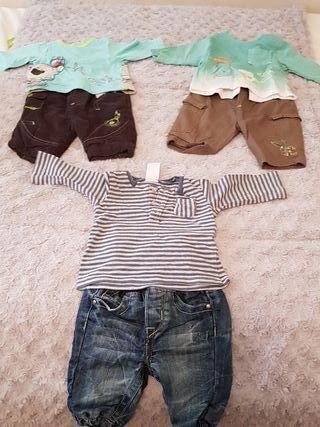 Lote 3 conjuntos bebe