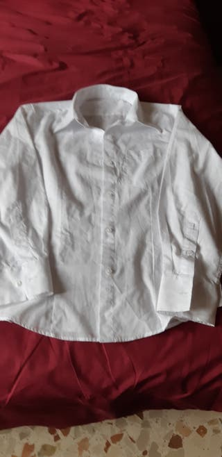 camisa Blanca 10-12 años