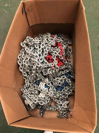 Se vende 60 mtrs cadena galvanizada