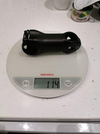 potencia bicicleta full carbono 114gr