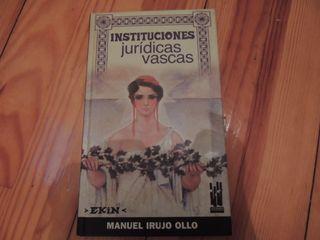 Instituciones jurídicas vascas