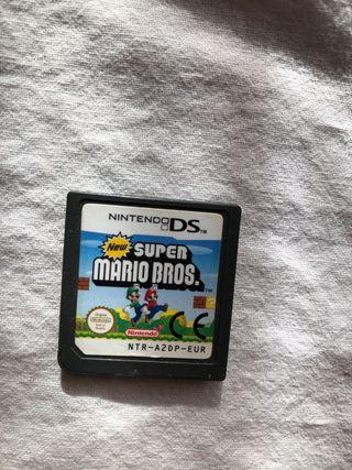 Juego ds súper Mario bros
