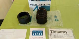 OBJETIVO TAMRON AF 55-200mm F/. 4-5,6 LD Macro