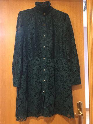 Vestida Zara manga larga