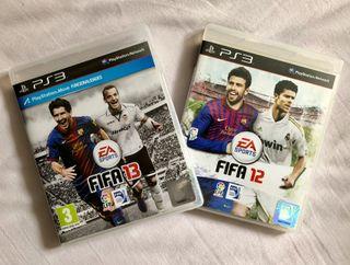 Fifa 12 y Fifa 13 para PS3