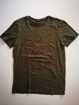 Camiseta surf Down Up de algodón.