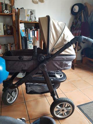 carrito capazo y maxicosi bebe