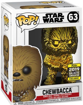 Funko Star Wars Celebration 2019 Chewbacca