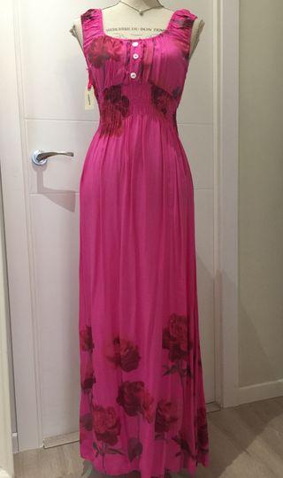 Vestido de verano nuevo rosa