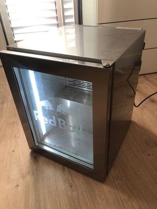Pequeña nevera Red Bull de colleccion con luz