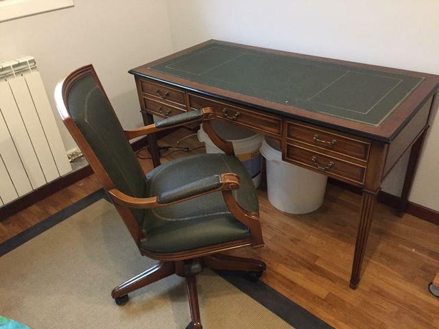 Mesa escritorio vintage.