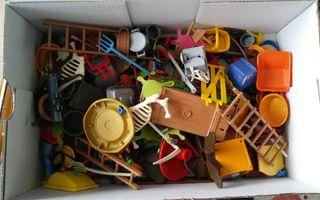 accesorios granja animales playmobil