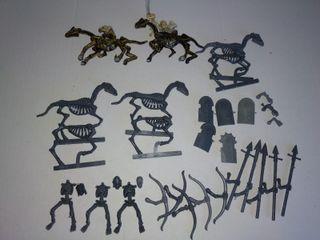 5 Jinetes esqueletos Reyes Funerarios GW