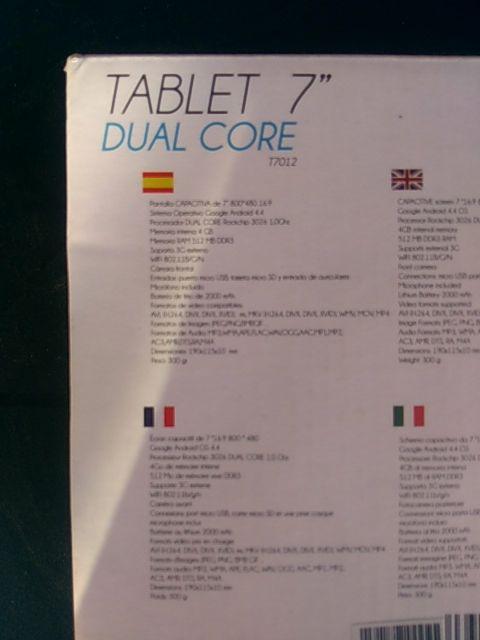 Tablet 7 pulgadas PRIXTON